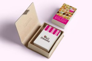 スイーツ雑貨 Wall Sweets ショップカード